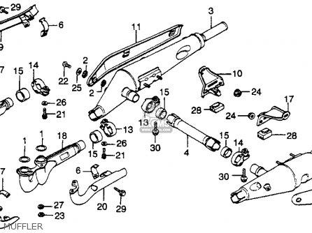 Honda Gl1000 Goldwing 1978 Usa parts list partsmanual