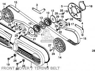 Honda Gl1000 Goldwing 1979 (z) Usa parts list partsmanual