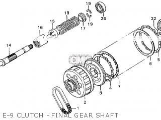 Honda GL1000K2 U.S.A parts lists and schematics