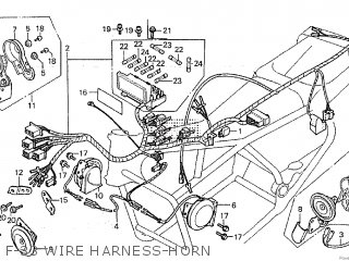Honda GL1100 1981 (B) CANADA parts lists and schematics