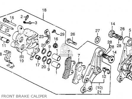 Honda Gl1100 Gold Wing Aspencade 1983 (d) Usa parts list partsmanual partsfiche