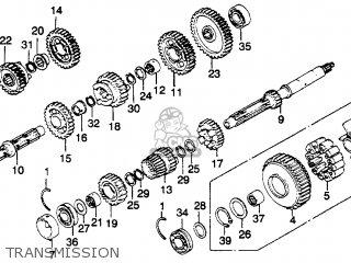 Honda Gl1100 Goldwing 1980 (a) Usa parts list partsmanual
