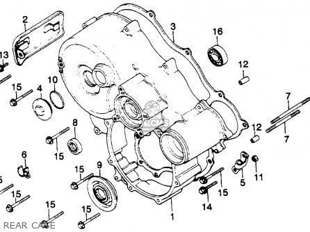 Honda GL1100 GOLDWING 1981 (B) USA parts lists and schematics