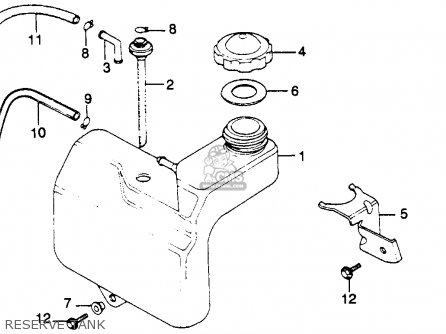 Honda GL1100 GOLDWING 1982 (C) USA parts lists and schematics