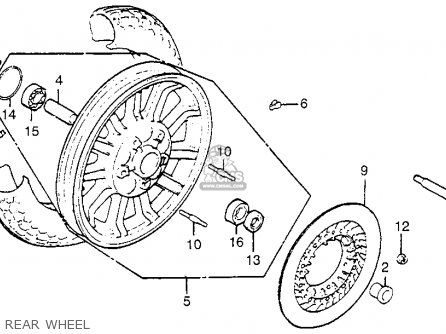 Goldwing Trike Rear Wiring Diagram. Goldwing. Wiring Diagram