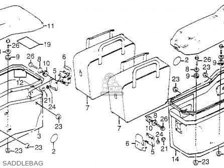 1969 Honda Cb750 Engine Parts Diagram