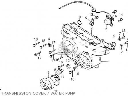 Honda GL1100 GOLDWING 1983 (D) USA parts lists and schematics