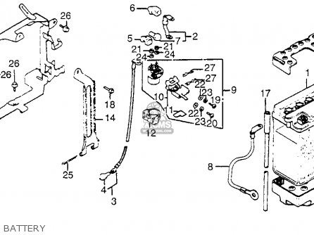 Honda Gl1100 Goldwing Aspencade 1983 (d) Usa parts list