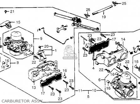 Honda GL1100 GOLDWING ASPENCADE 1983 (D) USA parts lists and schematics