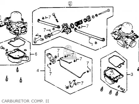 1983 Honda Goldwing Clutch Diagram, 1983, Free Engine