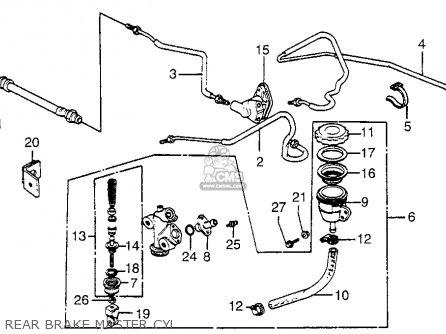 Honda GL1100 GOLDWING ASPENCADE 1983 (D) USA parts lists