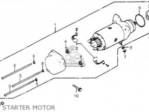 Honda Gl1100 Goldwing Aspencade 1983 (d) Usa parts list partsmanual partsfiche