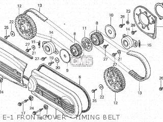 Honda GL1100A 1982 (C) parts lists and schematics