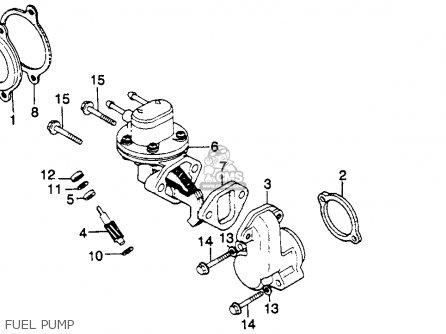 Honda Gl1100a Goldwing Aspencade 1982 (c) Usa parts list