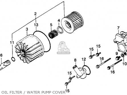 Honda Gl1100i Goldwing Interstate 1980 (a) Usa parts list