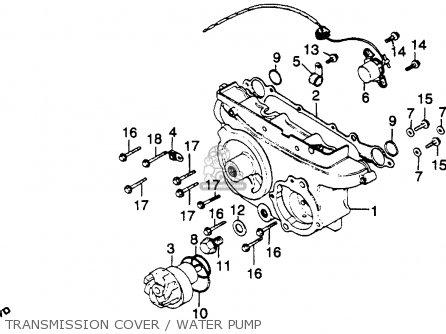 Honda GL1100I GOLDWING INTERSTATE 1980 (A) USA parts lists