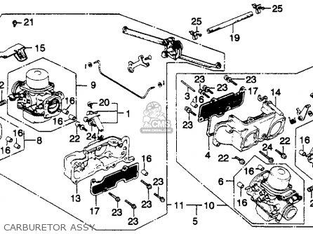 Honda Gl1100i Goldwing Interstate 1982 (c) Usa parts list