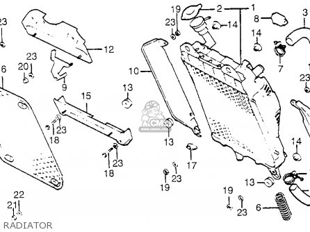 Honda GL1100I GOLDWING INTERSTATE 1983 (D) USA parts lists