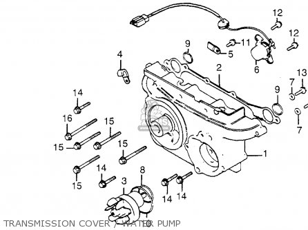 Motorcycle Cdi Wiring Diagram CDI Ignition Diagram Wiring