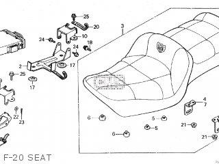 Honda GL1200A GOLDWING ASPENCADE 1984 (E) parts lists and