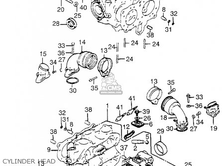 Honda Goldwing Gl1800 Engine Parts Diagrams Harley