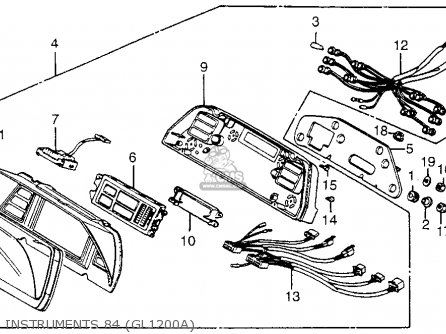 Honda Goldwing Gl1500 Ignition Wiring Diagram. Honda. Auto