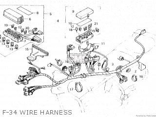 Honda GL1200A GOLDWING ASPENCADE 1986 (G) parts lists and