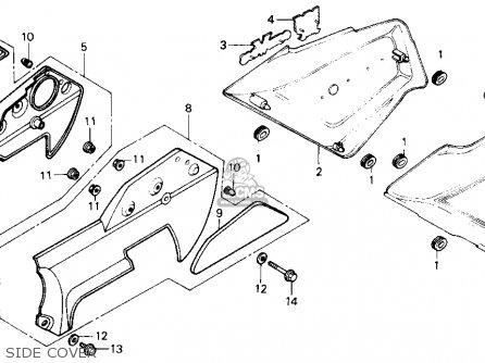 Honda Gl1200a Goldwing Aspencade 1986 (g) Usa parts list