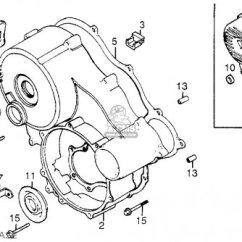 Honda Goldwing 1200 Wiring Diagram 06 F250 Fuse Box Gl1200i Aspencade 1984 E Usa California Parts Lists Rear Case