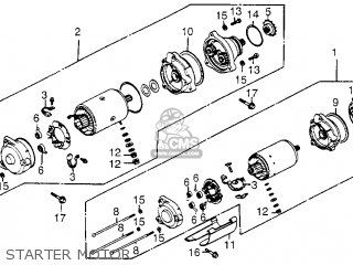 1985 Honda Goldwing 1200 Parts. Honda. Wiring Diagram Images