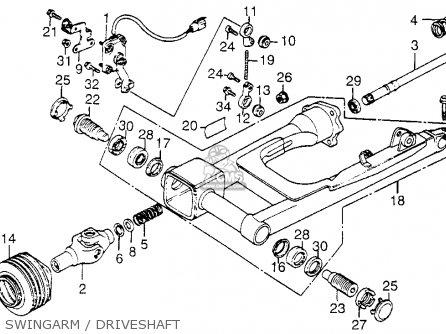 1982 Honda Goldwing Gl1200 Aspencade Wiring Diagram