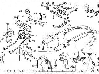 Honda GL1200L GOLDWING LIMITED EDITION 1985 (F) parts