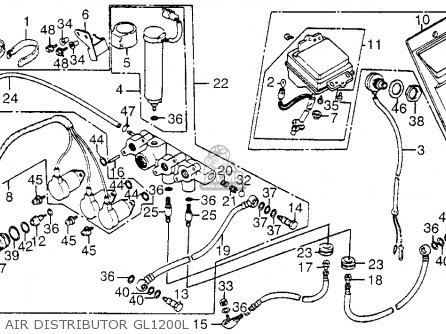 1986 Goldwing Starter Relay Wiring Diagram