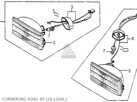Wiring Diagram 1985 Honda Goldwing 1200a