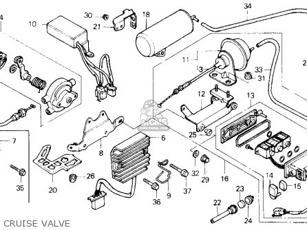 Wiring Diagram For 1987 Honda Goldwing 1200 A. Honda