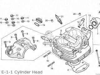 Honda Gl125 1981 (b) Malaysia parts list partsmanual