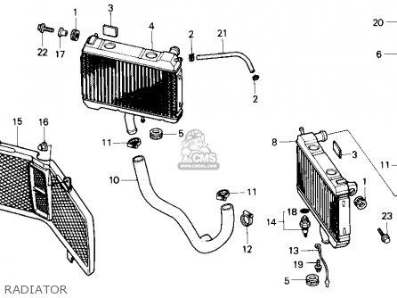 Honda Gl1500 Gold Wing 1988 Usa parts list partsmanual