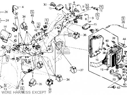 Honda Goldwing Gl1800 Parts Diagram, Honda, Free Engine