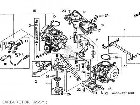 Honda Gl1500 Goldwing 1988 England / Mkh parts list