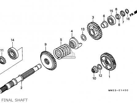 Honda Gl1500 Goldwing 1988 France / Kph Yb parts list