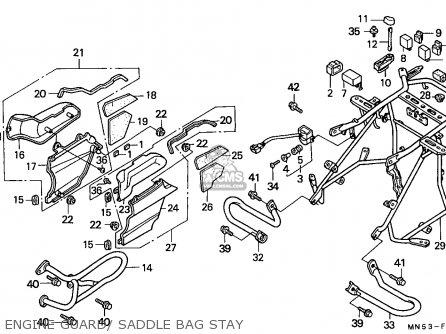 Honda Gl1500 Goldwing 1988 Germany / Kph parts list