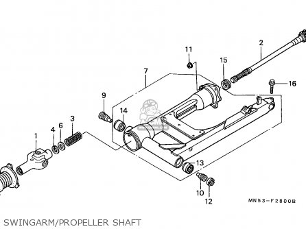 Honda GL1500 GOLDWING 1988 (J) SPAIN / KPH parts lists and