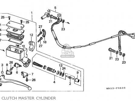 Honda Gl1500 Goldwing 1989 Belgium / Kph parts list