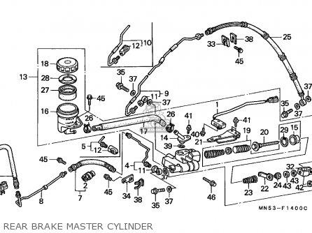Honda Gl1500 Goldwing 1989 England / Mkh parts list