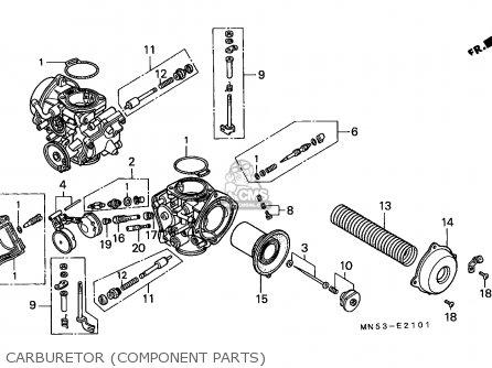 Honda Gl1500 Goldwing 1989 Germany / Kph parts list