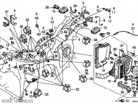 Honda GL1500 GOLDWING 1989 (K) BELGIUM / KPH parts lists