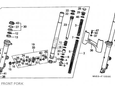 Honda GL1500 GOLDWING 1989 (K) GERMANY / KPH parts lists