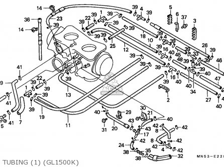 Honda GL1500 GOLDWING 1989 (K) ITALY / KPH parts lists and