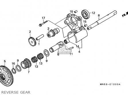 Honda Gl1500 Goldwing 1990 Germany parts list partsmanual