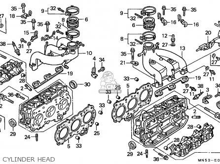Honda GL1500 GOLDWING 1990 (L) GERMANY parts lists and